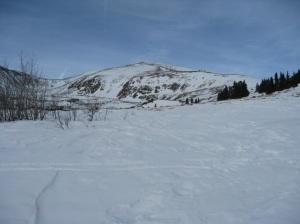 Long summit ridge.
