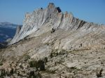 Matthes Crest from the northeast.  Wow.