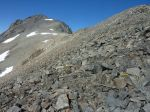 Goddard from top of ridge