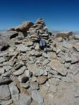 Table's summit cairn