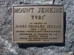 Jenkins summit plaque