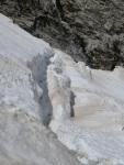 Bergschrund on Skillet