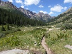 Trail in Chicago Basin