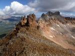On the ridge to Pilot Knob
