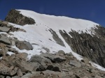 Gannett's summit snowfield