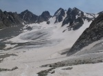 Dinwoody Glacier, looking east