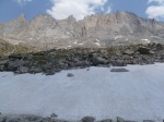 East wall of Titcomb Basin