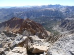 Piute Crags from summit