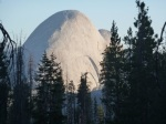 Sunrise on Half Dome