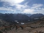 Goodbye to the Sierra from Kearsarge Pass