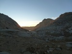 Dawn on Piute Pass
