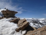 North ridge and high plateau