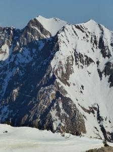 Superior's impressive south ridge