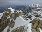 Tricky part of summit ridge