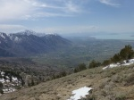 View south along Wasatch