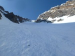 Base of couloir
