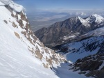 Top of couloir