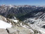 Little Cottonwood from North Thunder