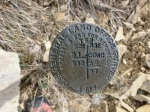 Old survey marker