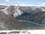 Middle Piney Lake and slide
