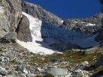 Falling Ice Glacier snout