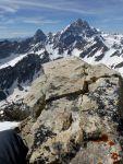 Nap rock and Grand Teton