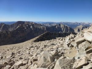 Endless ridge toward Hitchcock