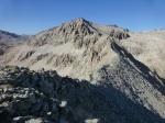 View back along Triple Divide's south ridge