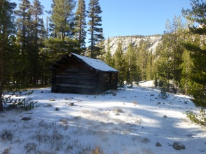 Big Arroyo patrol cabin