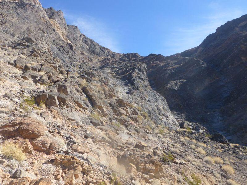Descending ramp on Eagle