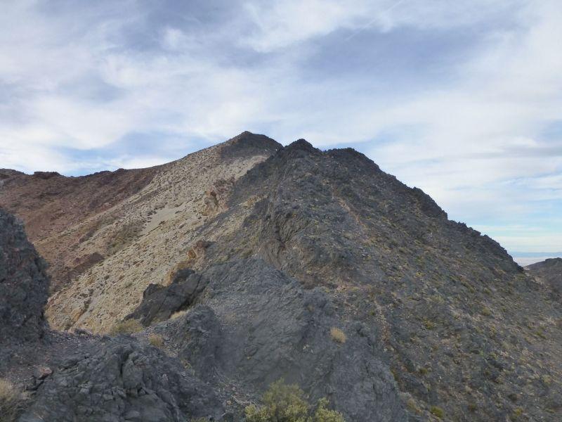 Upper ridge and summit