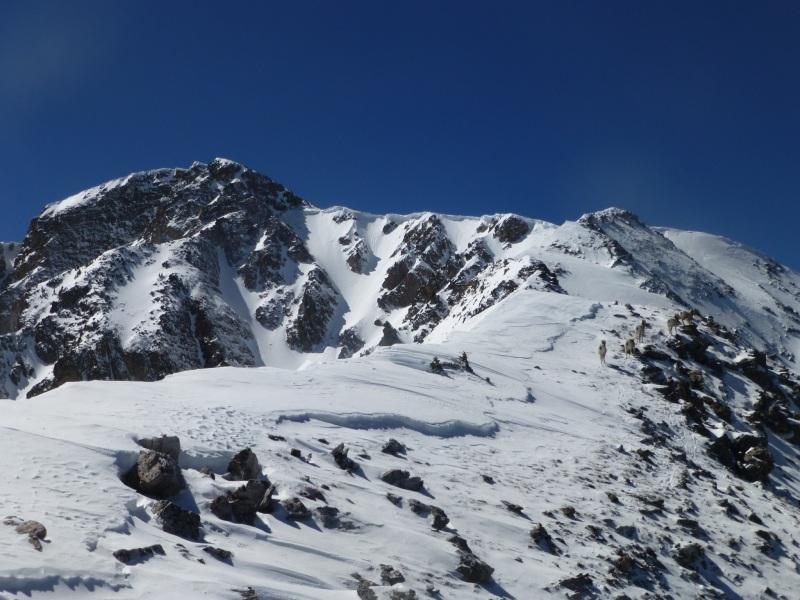 West Truchas and upper ridge